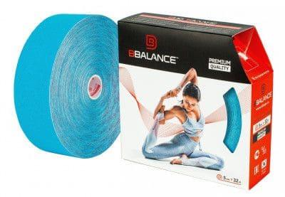 Кинезио тейп BBTape™ 5см × 32м голубой