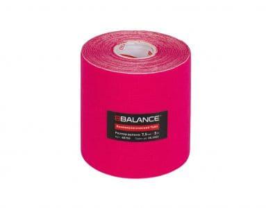 Кинезио тейп BBTape™ 7,5см × 5м розовый
