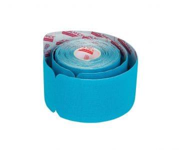 Кинезио тейп преднарезанный в рулоне Pre-cut BBTape™ 5см x 5 м голубой