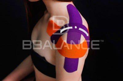 Наложение кинезио тейпа при болях в плече