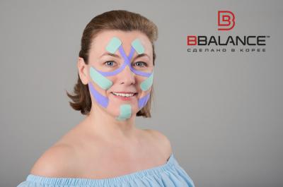 Тейпирование (кинезиотейпирование) в косметологии