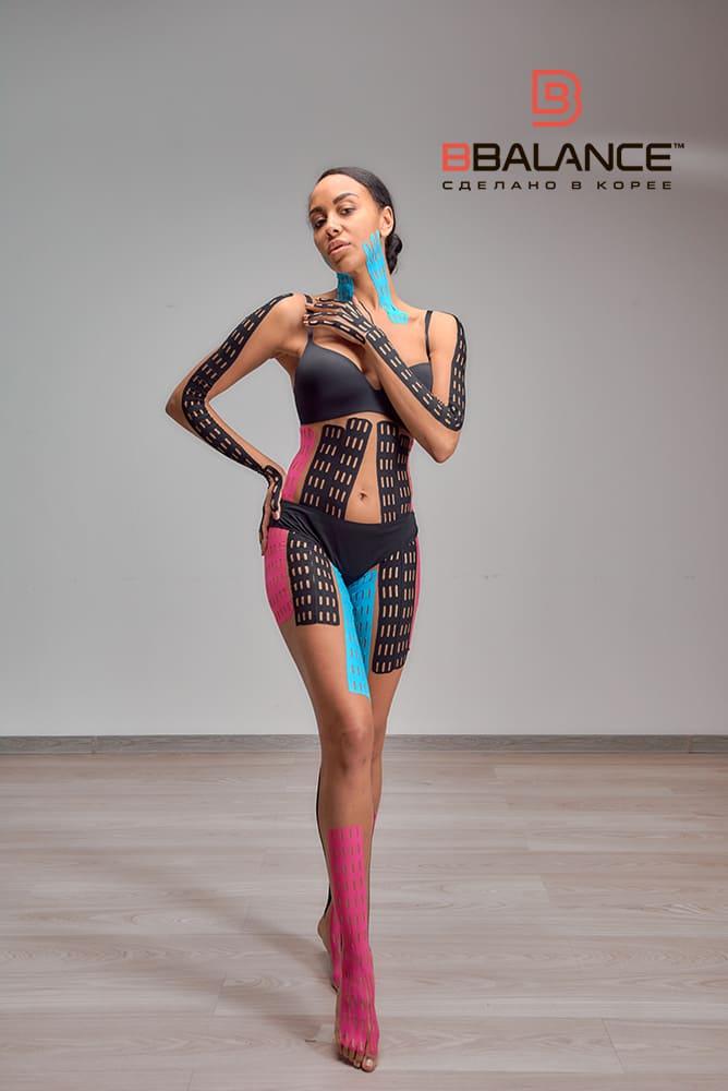 НОВИНКА! В продажу поступили шелковые перфорированные тейпы BB LYMPH™ для лица и тела! Фото-2