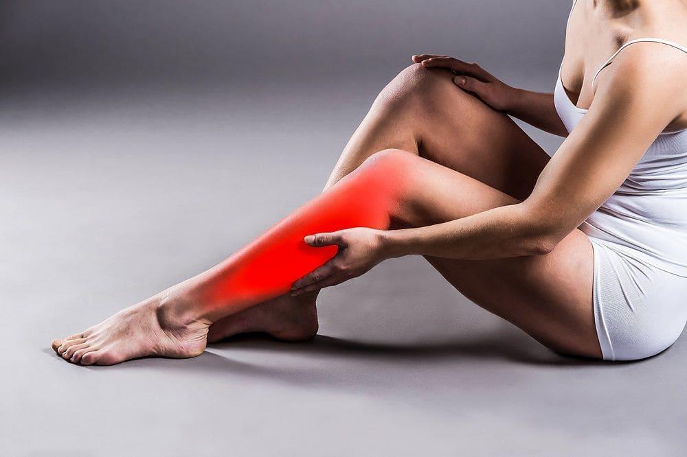 Тейпирование икроножной мышцы Фото-1