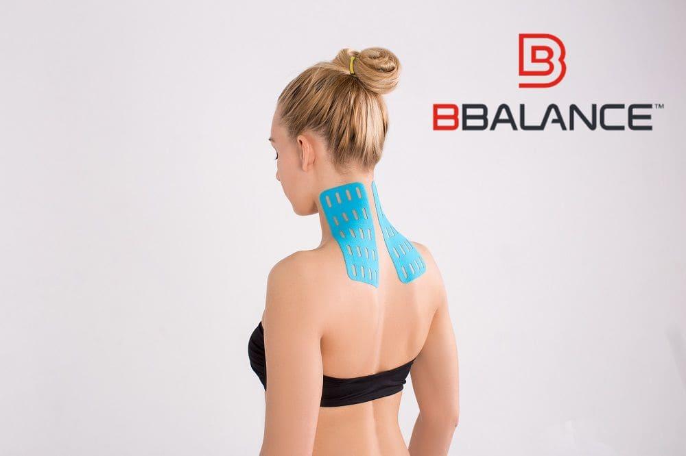 Применение кинезио тейпов BBTape при боли в шее Фото-2