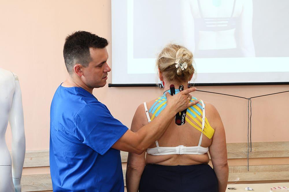 Тейпирование при остеохондрозе шеи Фото-6