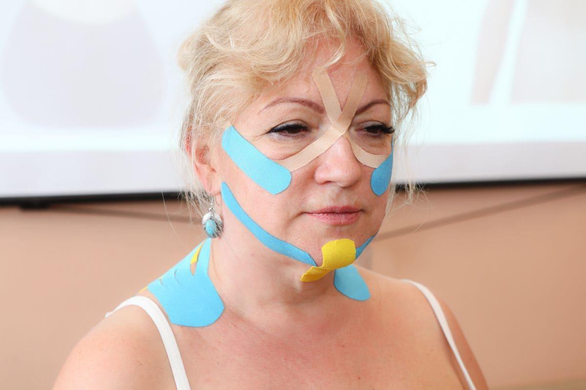 Какие зоны тейпируются на лице и зачем Фото-4