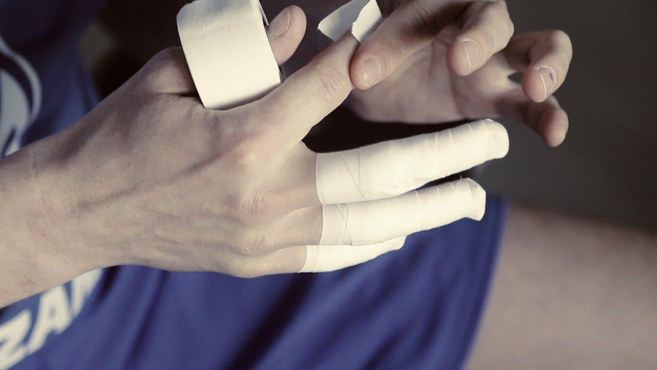 бинты на пальцах волейбол