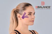 Тейп для лица BB FACE TAPE™ 5 см × 5 м шелк фиолетовый Фото 2
