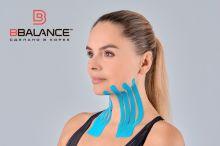 Тейп для лица BB FACE TAPE™ 5 см × 5 м шелк голубой Фото 3