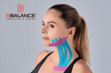Тейп для лица BB FACE TAPE™ 5 см × 5 м шелк голубой Фото 5