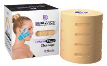 Перфорированный тейп для лица BB LYMPH FACE™ 7,5 см × 5 м хлопок бежевый Фото 2