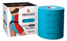 Перфорированный тейп для тела BB LYMPH TAPE™ 7,5 см × 5 м хлопок голубой Фото 2