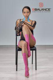 Перфорированный тейп для тела BB LYMPH TAPE™ 5 см × 5 м хлопок розовый Фото 4