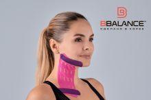 Перфорированный тейп для лица BB LYMPH FACE™ 7,5 см × 5 м розовый Фото 2