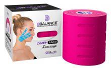 Перфорированный тейп для лица BB LYMPH FACE™ 7,5 см × 5 м хлопок розовый Фото 2