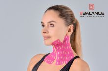 Перфорированный тейп для лица BB LYMPH FACE™ 5 см × 5 м розовый Фото 3