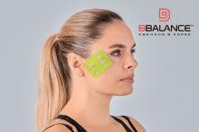 Перфорированный тейп для лица BB LYMPH FACE™ 5 см × 5 м лайм Фото 4