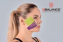 Перфорированный тейп для лица BB LYMPH FACE™ 5 см × 5 м лайм Фото 5