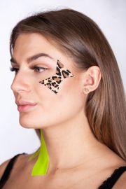 Тейп для лица BB FACE TAPE™ 5 см × 5 м хлопок леопард Фото 2