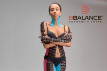 Перфорированный тейп для тела BB LYMPH TAPE™ 5 см × 17 м хлопок черный Фото 5