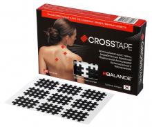 Кросс тейпы BB CROSS TAPE™ 2,1 см x 2,7 см (размер А) черный Фото 2