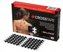 Кросс тейпы BB CROSS TAPE™ 4,9 см x 5,2 см (размер С) черный Фото 2