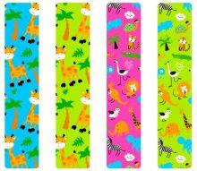 Кинезио тейп BBTape™ 5см × 5м жирафы лайм Фото 4