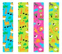 Кинезио тейп BBTape™ 5см × 5м жирафы голубой Фото 5