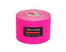 Кинезио тейп BBTape™ 5см × 5м флуоресцентный розовый Фото 2