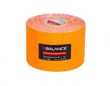 Кинезио тейп BBTape™ 5см × 5м флуоресцентный оранжевый Фото 2