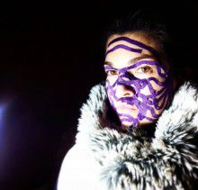 Кинезио тейп BBTape™ ICE 5см × 5м фиолетовый Фото 4