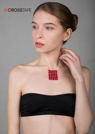 Кросс тейпы BB CROSS TAPE™ 4,9 см x 5,2 см (размер С) красный Фото 3