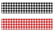Кинезио тейп BBTape™ 5см × 5м гусиные лапки красный Фото 4