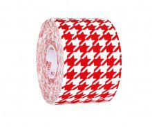 Кинезио тейп BBTape™ 5см × 5м гусиные лапки красный Фото 6