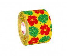 Кинезио тейп BBTape™ 5см × 5м гавайи желтый Фото 6