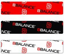Кинезио тейп BBTape™ 5см × 5м лого красный Фото 4