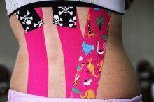 Кинезио тейп BBTape™ 5см × 5м сафари розовый Фото 6