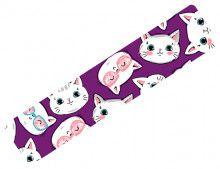 Кинезио тейп BBTape™ 5см × 5м котята фиолетовый Фото 4