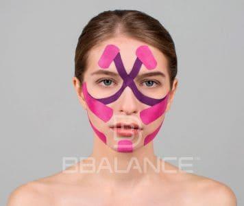 Инструкция по применению тейпа для лица для комплексной работы со всей поверхностью лица