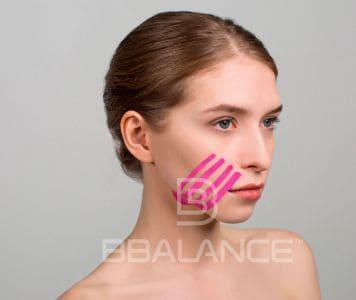 Инструкция по применению тейпа для лица для профилактики отеков на лице и в области глаз