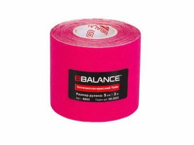 Кинезио тейп BBTape™ 5см × 3м розовый Фото 1