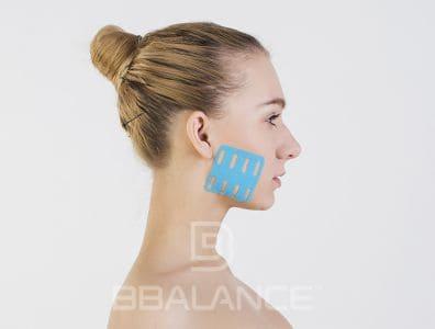 Инструкция по применению перфорированных тейпов BB LYMPH FACE™ для стимуляции жевательной мышцы (профилактика обвисания кожи)
