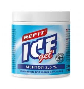 Охлаждающий гель Refit Ice Gel Ментол 2,5% (230 мл) Фото 1