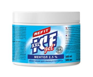 Охлаждающий гель Refit Ice Gel Ментол 2,5% (500 мл) Фото 1
