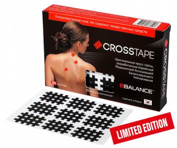 Кросс тейпы BB CROSS TAPE™ 2,1 см x 2,7 см (размер А) черный Фото 1
