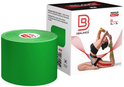 Кинезио тейп BBTape™ 5см × 5м зелёный Фото 1
