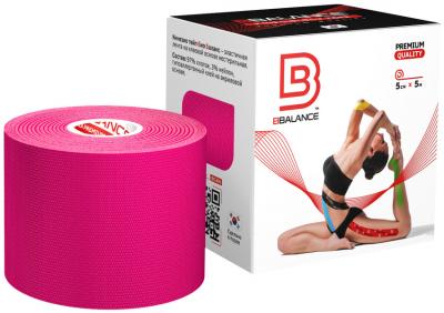 Кинезио тейп BBTape™ 5см × 5м розовый
