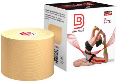 Кинезио тейп BBTape™ 5см × 5м бежевый