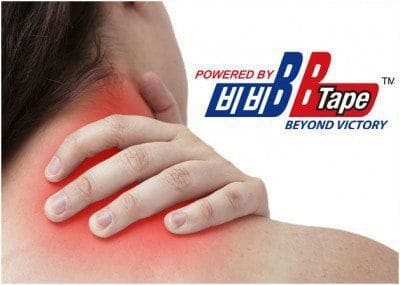 Применение кинезио тейпов BBTape при боли в шее