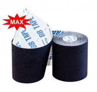 Кинезио тейп BBTape™ МАХ 7,5см × 5м черный